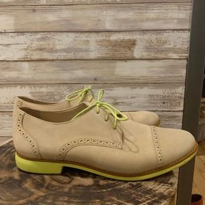 Cole Haan Tan Suede Loafer sz 9